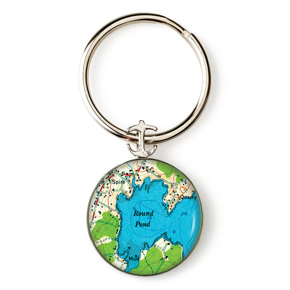 Round Pond Key Ring