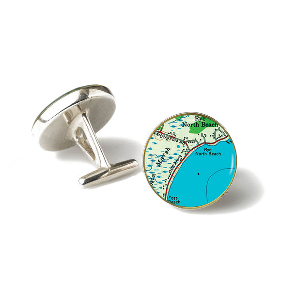 Rye Beach North Cufflinks