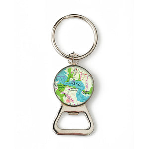 Saco 1 Combination Bottle Opener with Key Ring