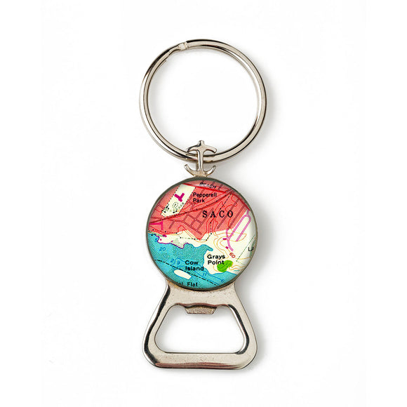 Saco 3 Combination Bottle Opener with Key Ring