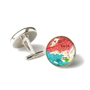 Saco 3 Anchor Cufflinks