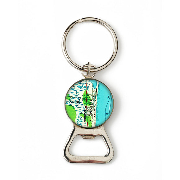 Saco Kinney Shores Combination Bottle Opener with Key Ring