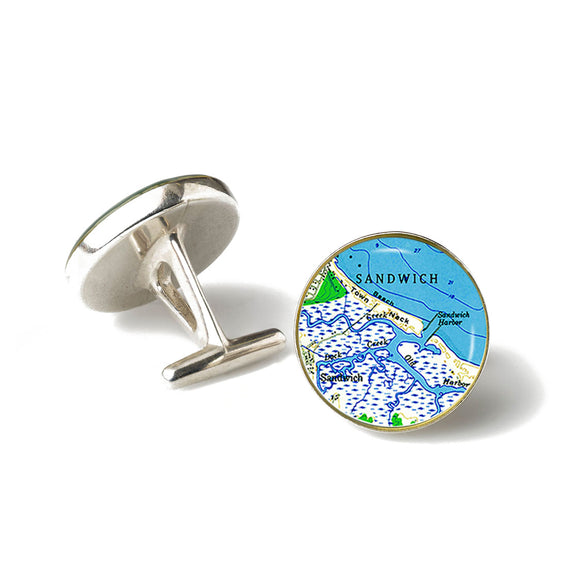 Sandwich Harbor Cufflinks