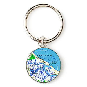 Sandwich Harbor Anchor Key Ring