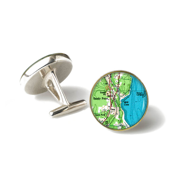 Sandy Point Cufflinks