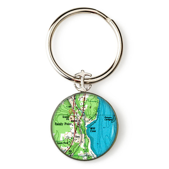 Sandy Point Key Ring