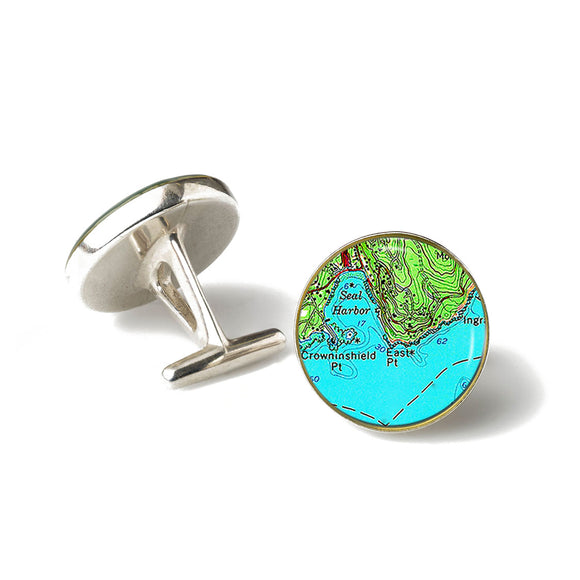 Seal Harbor 1 Cufflinks