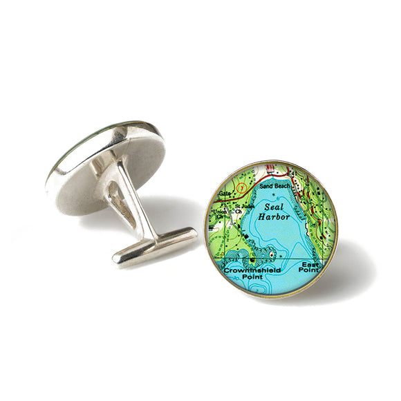 Seal Harbor 2 Cufflinks
