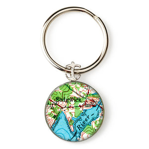 Sedgwick Anchor Key Ring