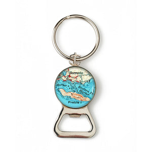 Sorrento Anchor Combination Bottle Opener with Key Ring