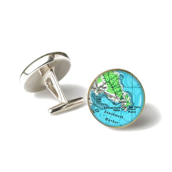 Southwest Harbor 1 Cufflinks