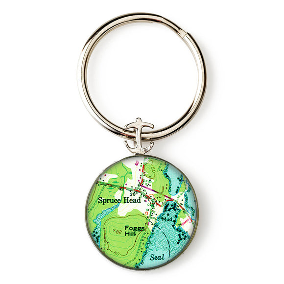 Spruce Head Key Ring
