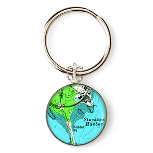 Stockton Harbor Key Ring