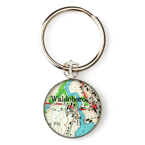 Waldoboro Key Ring