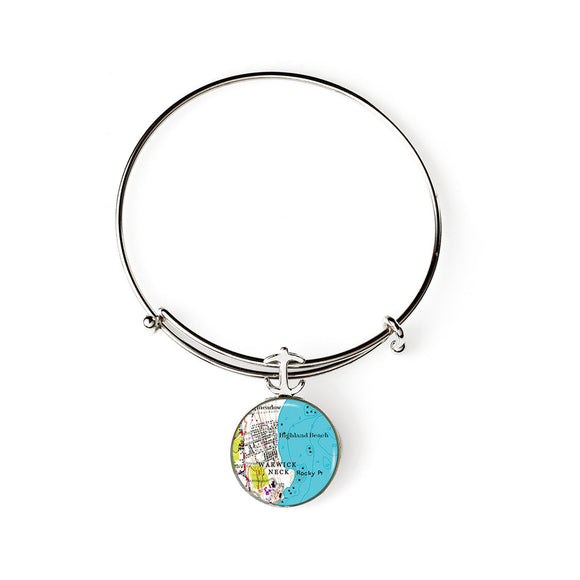 Warwick Rocky Point 2 Expandable Bracelet with Anchor Charm