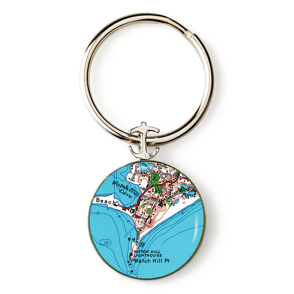Watch Hill 1 Anchor Key Ring