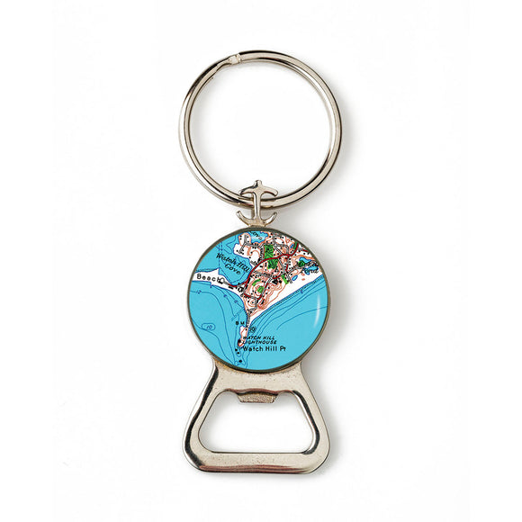 Watch Hill 1 Combination Bottle Opener With Key Ring