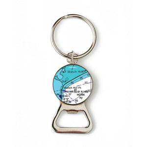 Watch Hill 2 Combination Bottle Opener With Key Ring