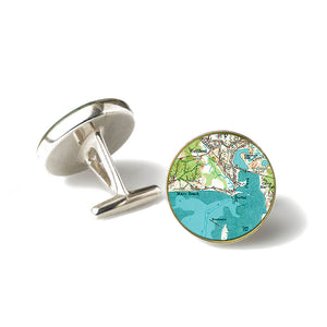 Wellfleet Mayo Beach Cufflinks