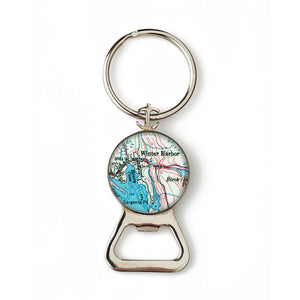 Winter Harbor 1 Anchor Combination Bottle Opener with Key Ring
