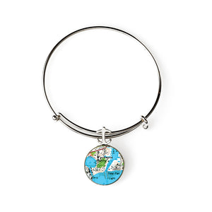 Wychmere Harbor Expandable Bracelet with Anchor Charm