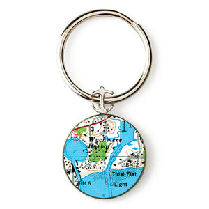Wychmere Harbor Anchor Key Ring