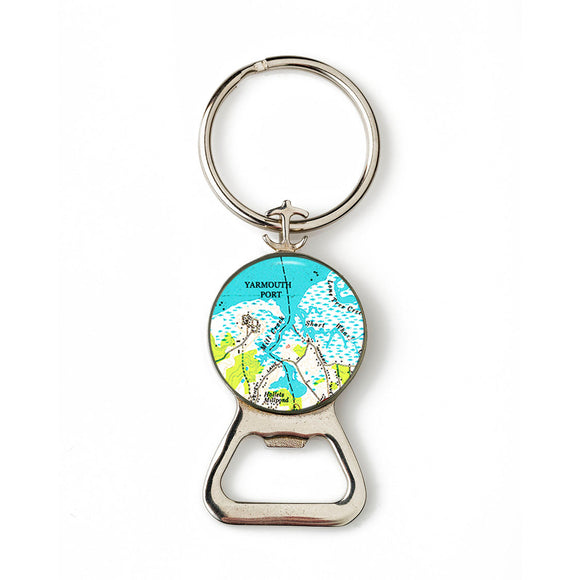 Yarmouth Port 1 Combination Bottle Opener with Key Ring