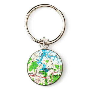 Yarmouth Port 2 Anchor Key Ring