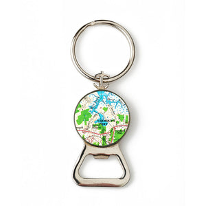 Yarmouth Port 2 Combination Bottle Opener with Key Ring