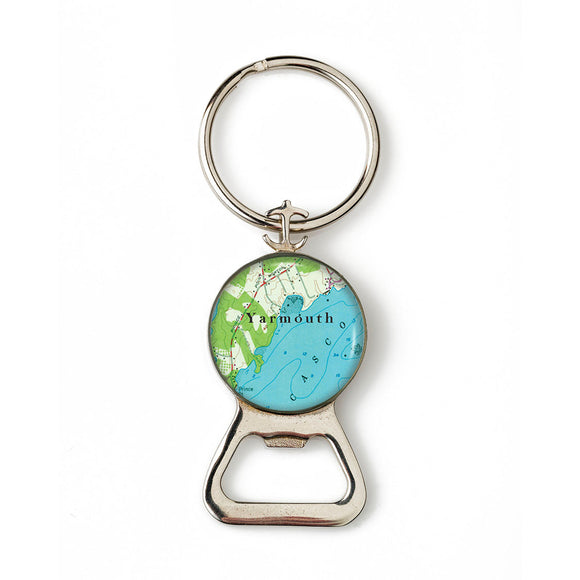Yarmouth Combination Bottle Opener With Key Ring