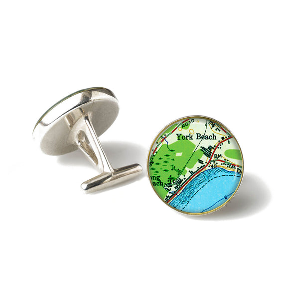 York Beach Anchor Cufflinks