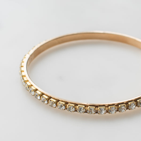 Bangle Bracelet with Jewels