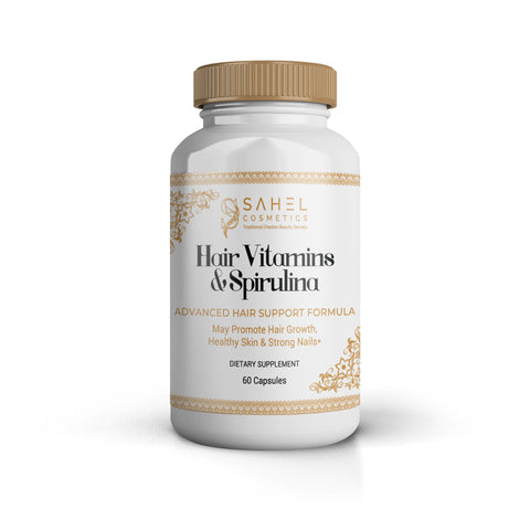 Hair Vitamins & Spirulina