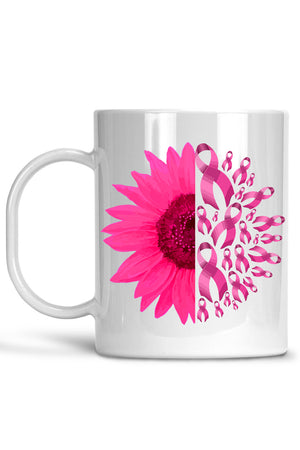 Ribbon Flower Mug
