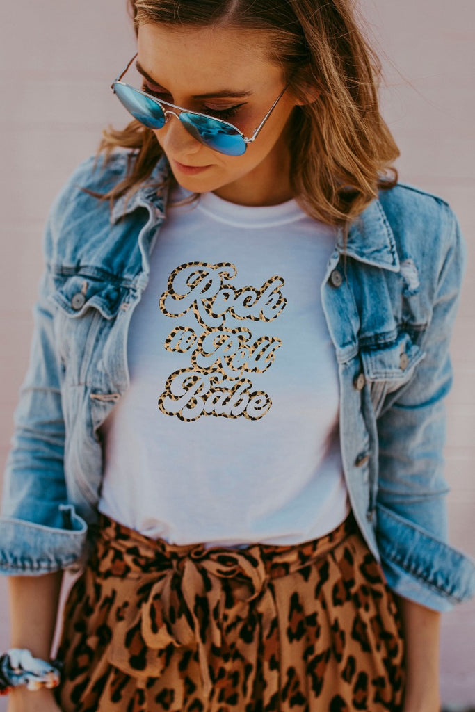 White Rock n Roll Babe Shirt