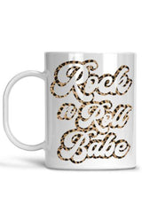 White Rock n Roll Babe Mug