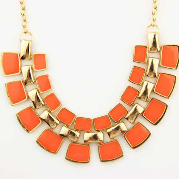 Trendy Bling Statement Necklace