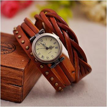 Vegan Leather Elegant Watch