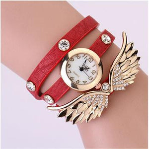 Angel Wing Wrap Watch