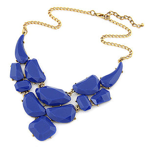 Bold Stone Statement Necklace