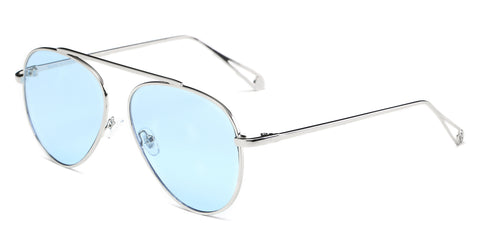 Unisex Metal Classic Overiszed Aviator Fashion Sunglasses UV Protection