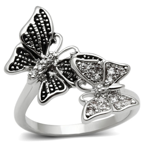 Butterfly Brass Ring