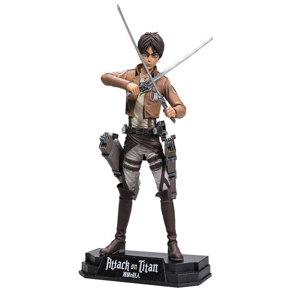 Attack on Titan Eren Jaeger Color Tops Action Figure - Ou Neko
