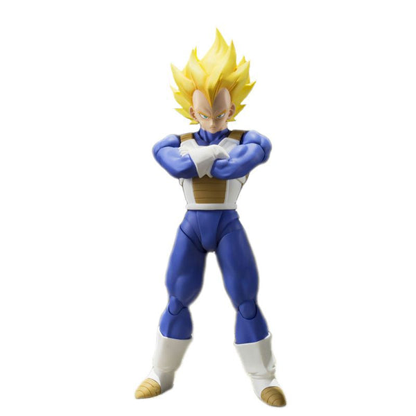 Dragon Ball Z S.H. Figuarts Super Saiyan Vegeta Action Figure - Ou Neko