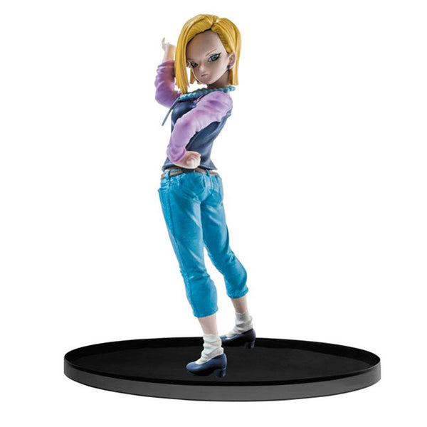 Dragon Ball Super SCultures Big Budoukai Android 18 Figure - Ou Neko