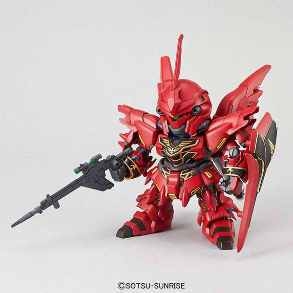 Mobile Suit Gundam Unicorn SD Gundam EX-Standard 013 Sinanju Plastic Model Kit - Ou Neko