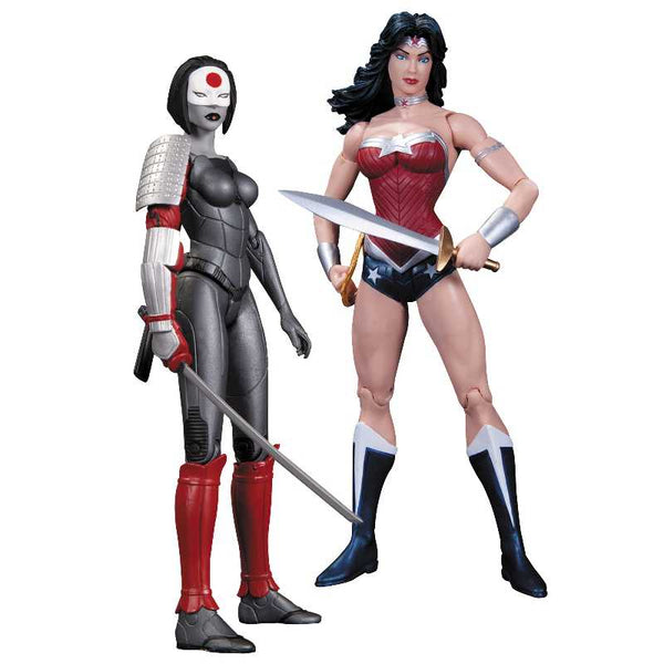 Justice League Wonder Woman vs. Katana The New 52 Action Figures - Ou Neko