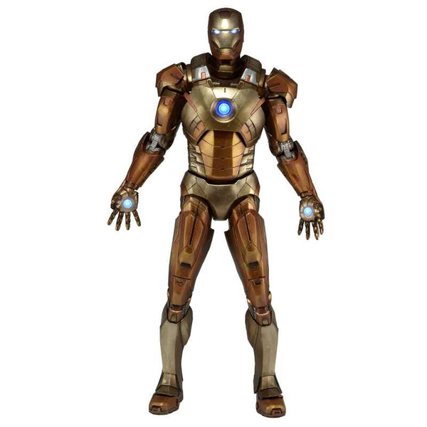 The Avengers Iron Man Golden Midas Armor 1/4 Scale Action Figure - Ou Neko