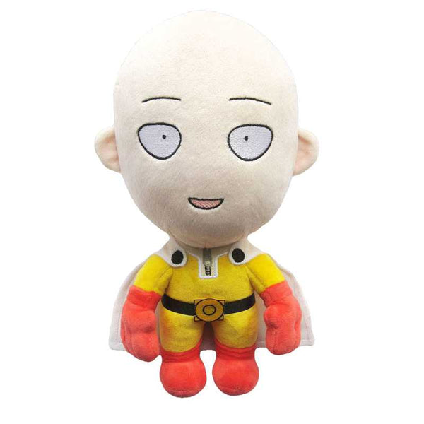 One Punch Man Saitama (Happy Ver.) Plush Toy - Ou Neko