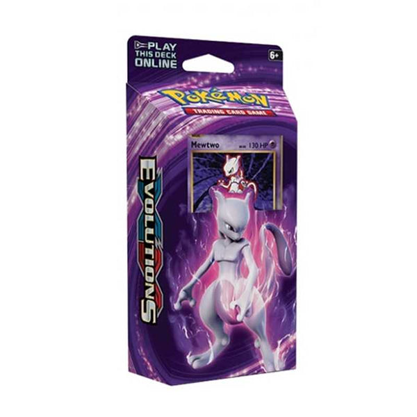 Pokemon XY Evolutions Mewtwo Mayhem Theme Deck - Ou Neko
